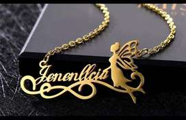 Cutomized Gold Plated Necklace