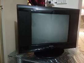 Nobel Tv model 21H73 with moving stand left right  condition 9/10