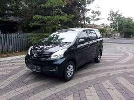 DP 8jt Toyota New Avanza E MT 2013 hitam Bandung