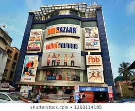 Urgent hiring of workers and Helpers in Big Bazaar