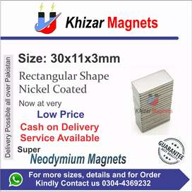 All size & shape of Neodymium Magnets now available in sialkot