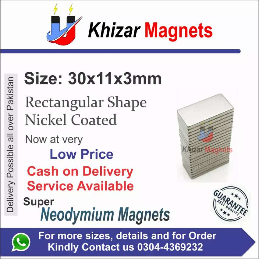 All size & shape of Neodymium Magnets now available in sialkot 0