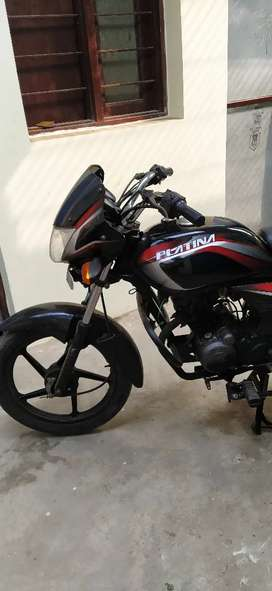 bajaj platina for sell with all document