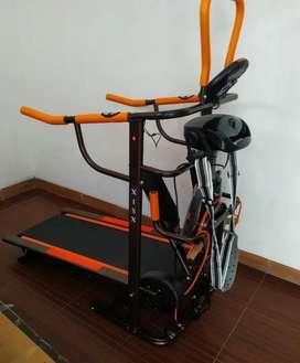 Manual treadmill ada 6fungsi // bisa cod