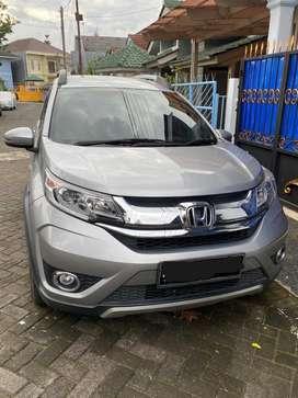 Dijual Mobil Cantik Honda BRV E CVT A/T 2018 Silver Low KM