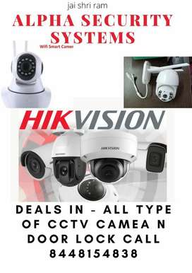 Cctv all type of camera for installation call