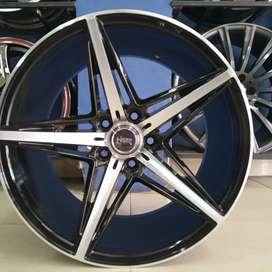 velg mobil civic new ring 19 warna black polish