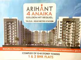1 bhk in lower rate in arihant 4 anaika