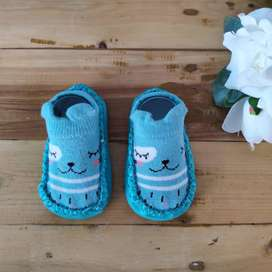Sepatu Bayi Baby Prewalker Shoes Socks Kaos kaki Bayi Anti Slip Impor