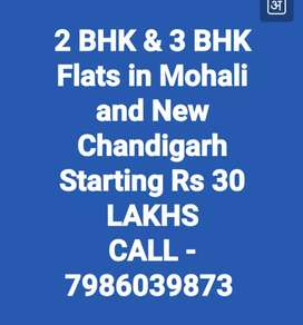 2BHK & 3BHK FLATS IN Mohali & New Chandigarh Location