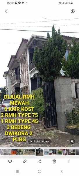 Dijual Rumah mewah kost 6 kmr 3 bedeng 3bh rmh tyoe kecil dwikora 2