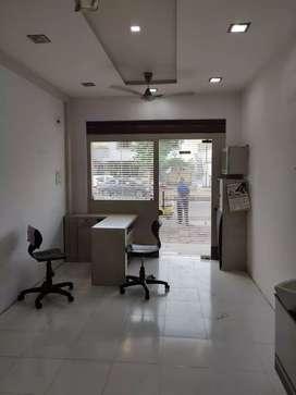 #300 sqft office for rent in manjalpur .