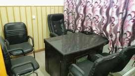 170 sq ft fully furnished Office rajpur road dehradun.