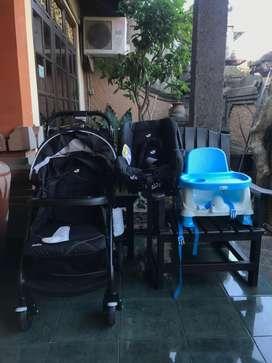 Dijual stroller, car seat dan baby chair