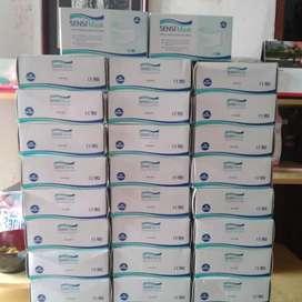 Masker Sensi 1 BOX (50pc) 3 ply