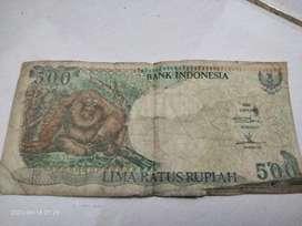Rupiah Rp 500 Asli, keluaran thn 1992
