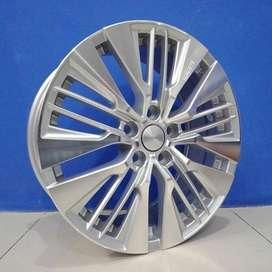 pelek mobil hsr fairmont ring 18x75 inch pcd 5x1143 silver