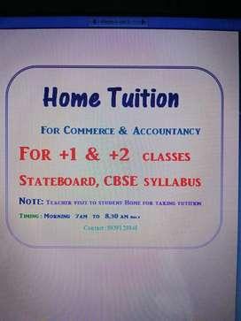 Home Tuition - Accountancy