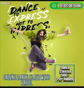 ONLINE DANCE CLASS WITH RAHUL