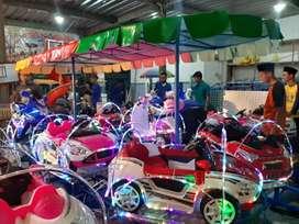 odong odong kereta mini panggung MRC full variasi lampu 11