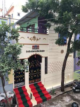 Ground floor 2bhk fully furnished fall celling Nallacheruvu