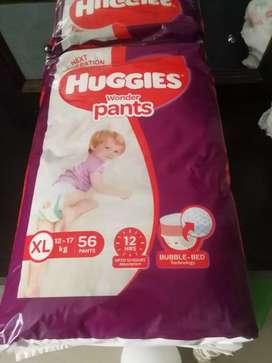 Huggies XL diaper for sale