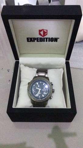 jam tangan merk expedition asli germanium