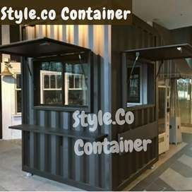 BIG SALE TAHUN BARU | CONTAINER BOOTH CUSTOM | CONTAINER USAHA WARKOP