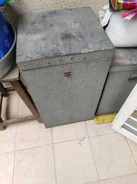 Metal storage or container