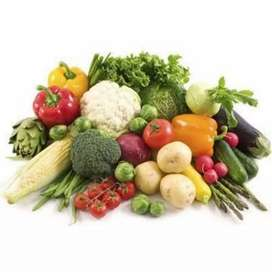 Vegetables is being sold online.