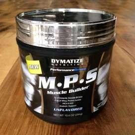 Suplemen Fitness BCAA Dymatize M.P.S 20 Serving Muscle Builder.