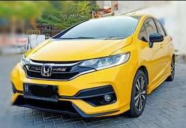 Jazz RS 2020 kuning km 5000 Plat H tgn 1 dr baru sempurna, istmewa