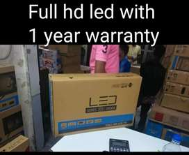 32'inch android led TV with 1 year warranty