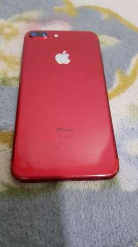 I phone 7 plus red colour 128 gb