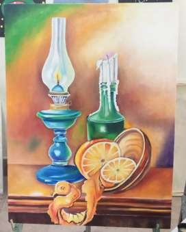 Still life oil painting size 18/24