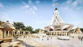बेसा रोड पे स्वामि समर्थ मंदिर से 1 किमी पर रेजिडेंशियल प्लॉट्स उपलब्ध
