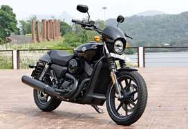 Harlry devidsion street rod 750 black with extra feature