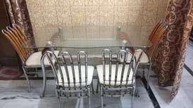 Dinning set (4 chairs) is available for sale