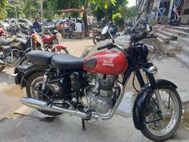 Royal Enfield classic redditch red edition 2017 May model for sale.