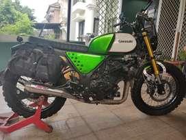 DIJUAL Kawasaki Ninja 250 FI custom Scrambler