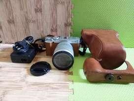 kamera mirrorless FujiFilm X-A2 Lensa 16-50 mm