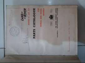 LAND ROVER 1969 EDISI 1  MANUAL SERVIS
