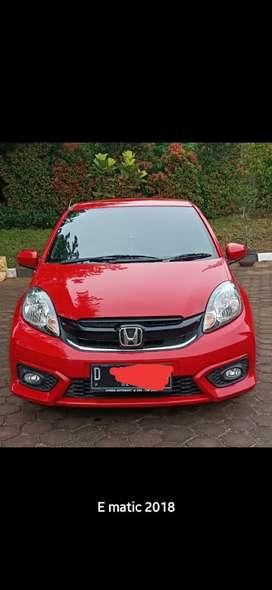 Kredit Mobil Syariah Honda Brio E AT 2018
