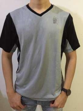 Baju Olahraga Workout Bahan jersey