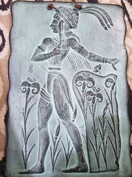 Old Hand Art It belongs to Agean culture prior to Greek and Crete.