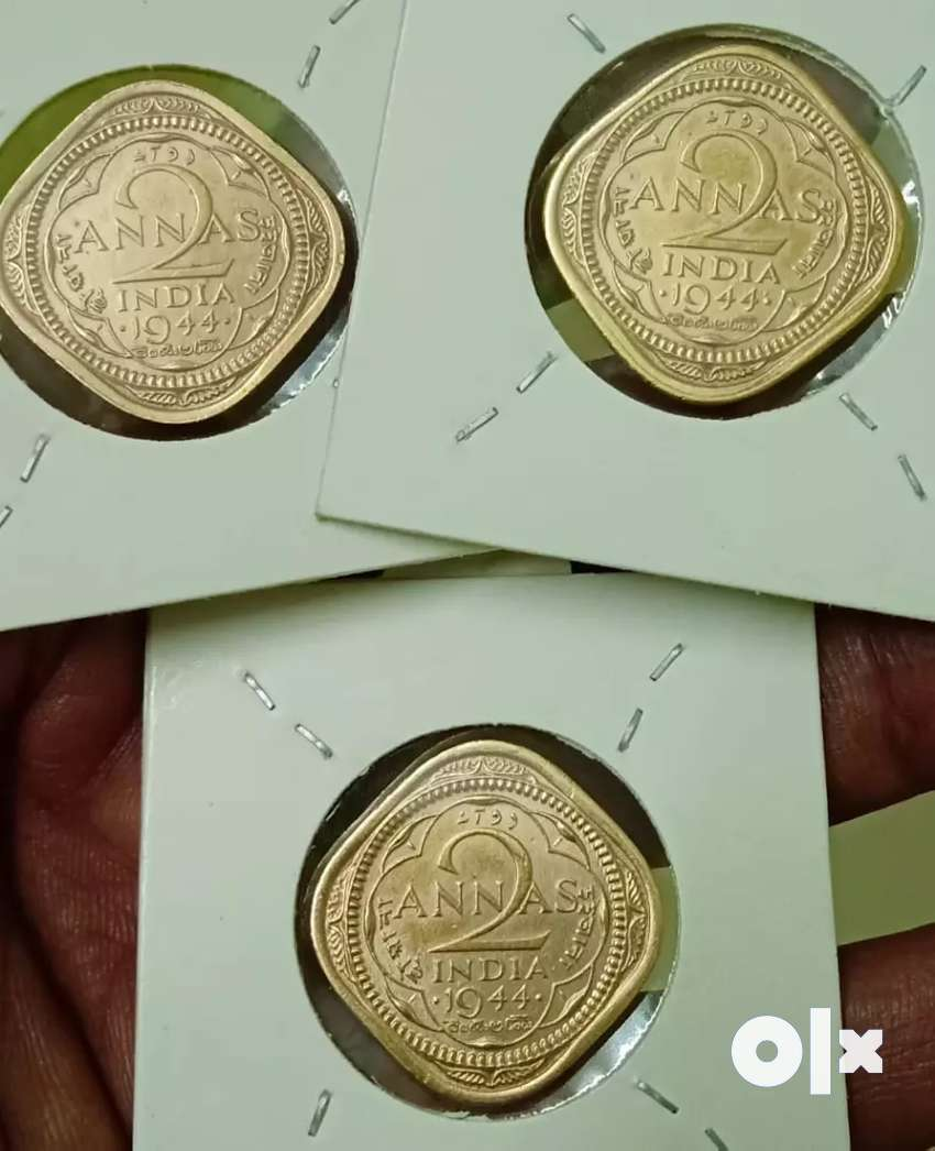 75 Years Old Indian Coins 2 Anna's each coin RS 150 0