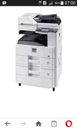 Jual dan Rental mesin fotocopy  100% baru,jaminan garansi 1th dan part