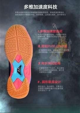 Exbill Sepatu Badminton Lefus Training Profesional  Ringan dan Kuat