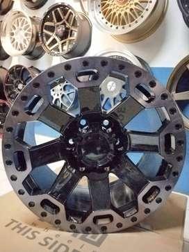 cicil velg mobil r17 amw warlors untuk nissan terrano