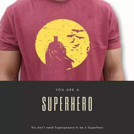 Batman Tshirts for Superhuman like You